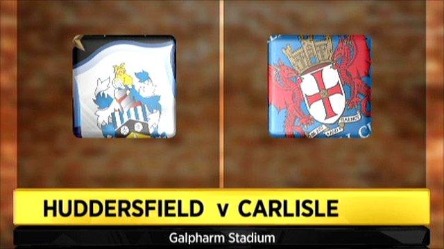 Huddersfiled v Carlisle