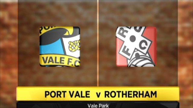 Port Vale 1-0 Rotherham