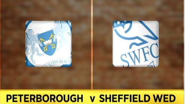 Peterborough 5-3 Sheff Wed
