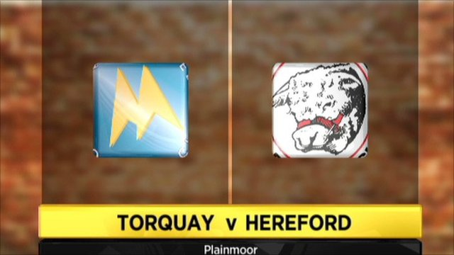 Torquay 1-3 Hereford