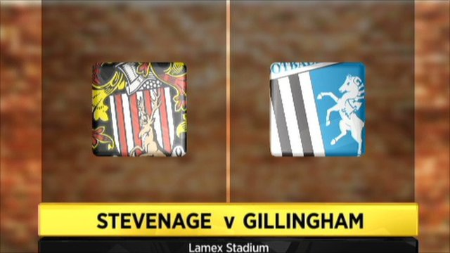 Highlights - Stevenage 2-2 Gillingham