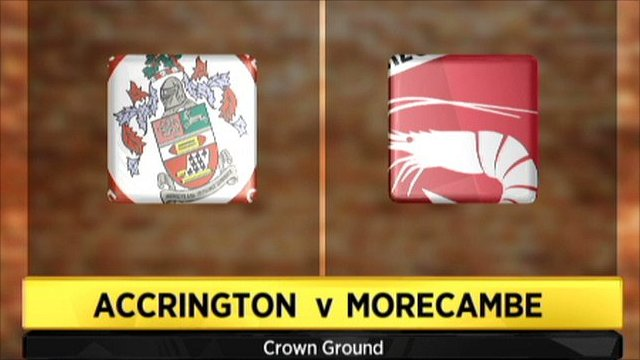 Accrington v Morecambe