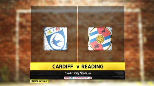 Highlights - Cardiff 2-2 Reading