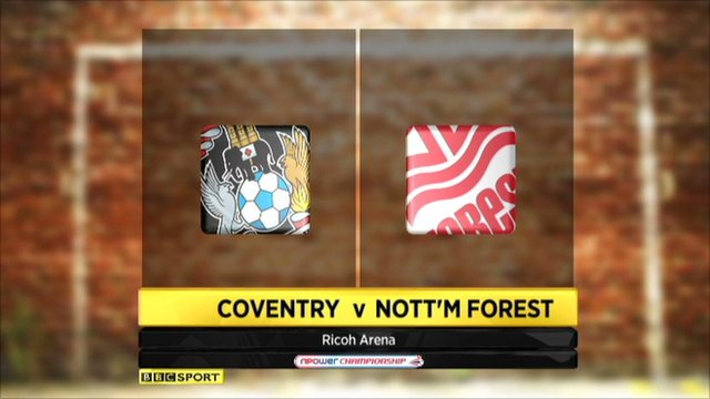 Highlights - Coventry 1-2 Nott'm Forest