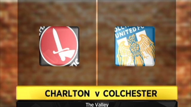 Charlton 1-0 Colchester