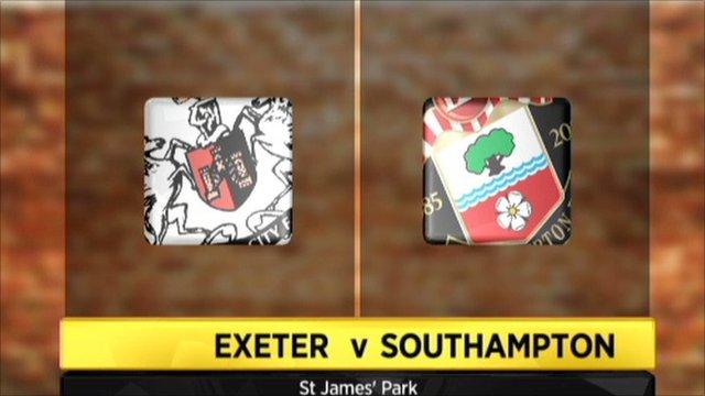 Exeter 1-2 Southampton