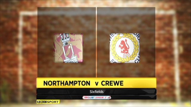 Highlights - Northampton 6-2 Crewe