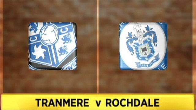 Highlights - Tranmere 1-1 Rochdale