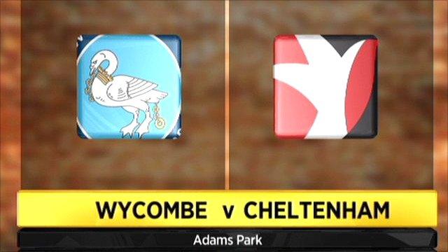 Wycombe v Cheltenham