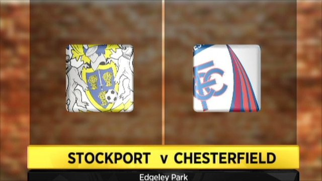 Stockport 1-1 Chesterfield