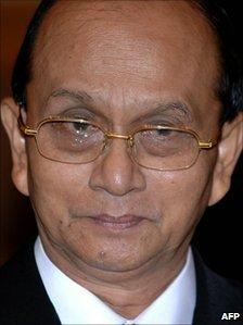 File image of Thein Sein