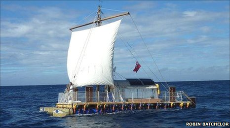 The An-Tiki vessel