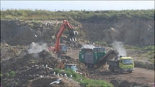 Guernsey's Mont Cuet landfill