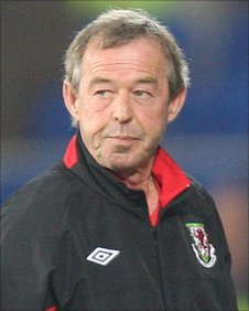 Brian Flynn has led his Wales U21 side to the brink of qualification