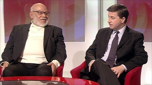 Kamal El Helbawy and Douglas Alexander