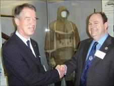 Johan Amundsen and David Wilson