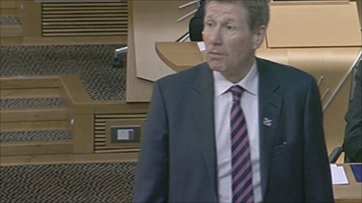 Justice Secretary Kenny MacAskill leads the debate on the Double Jeopardy Bill.