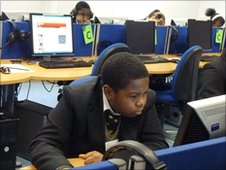 School Reporters at Bonus Pastor Catholic College in Lewisham