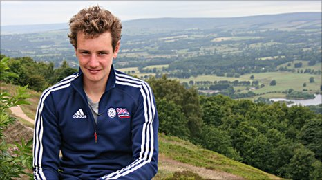 Alistair Brownlee by Kevin Bishop