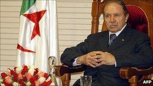 Algerian President Abdelaziz Bouteflika. File photo