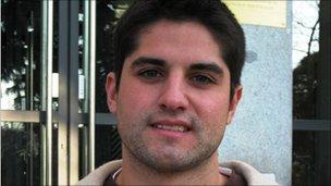 Joaquin Toubes Tova, engineering student