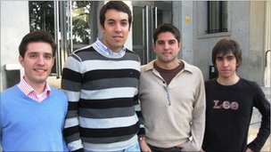 Engineering students at Madrid Polytechnical University