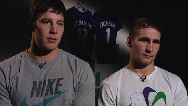 Joel Tomkins and Sam Tomkins