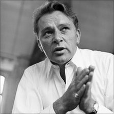 Richard Burton in John Osborne's first television play