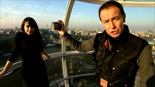 Dan Simmons on the London Eye