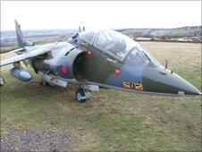 Harrier XW269