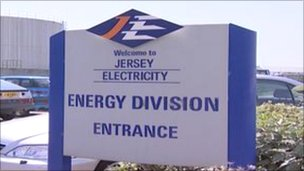 Jersey Electricity sign