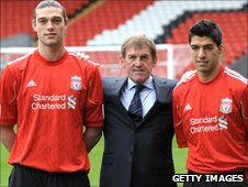 Carroll, Dalglish and Suarez