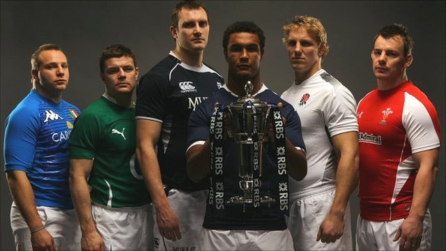 2011 Six Nations captains