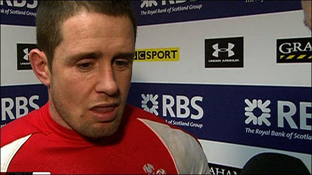 Wales&amp;apos;s Shane Williams