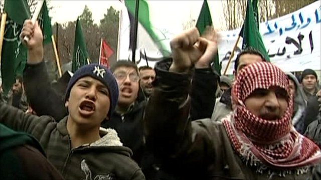 Rally in Jordan