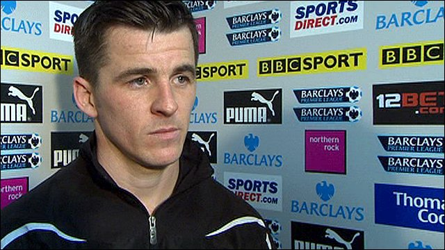 Newcastle's Joey Barton