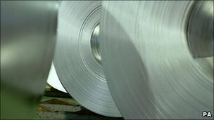 Steel for use in manufacturing