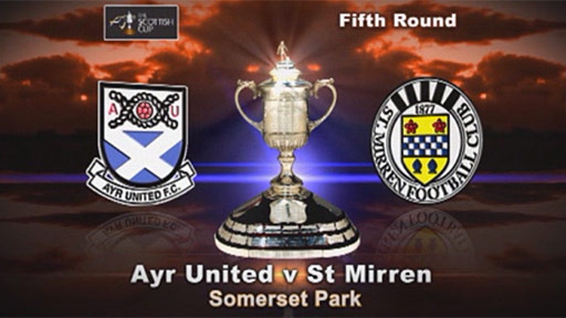 Ayr United v St Mirren