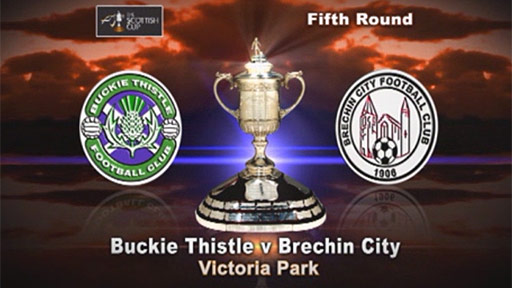 Buckie Thistle v Brechin City