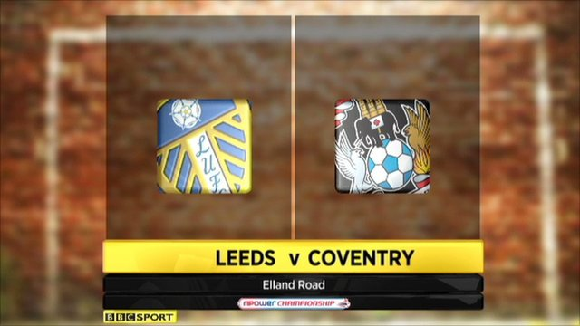 Leeds 1-0 Coventry