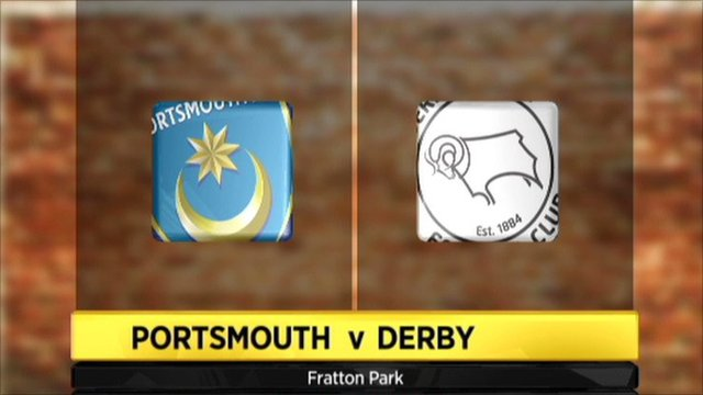 Portsmouth 1-1 Derby