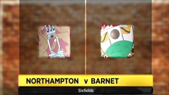 Northampton 0-0 Barnet