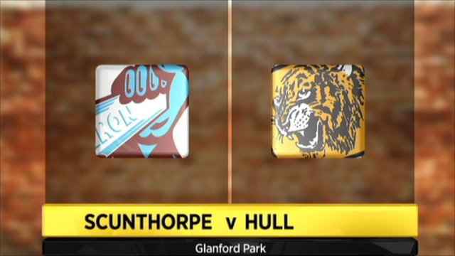Scunthorpe 1-5 Hull
