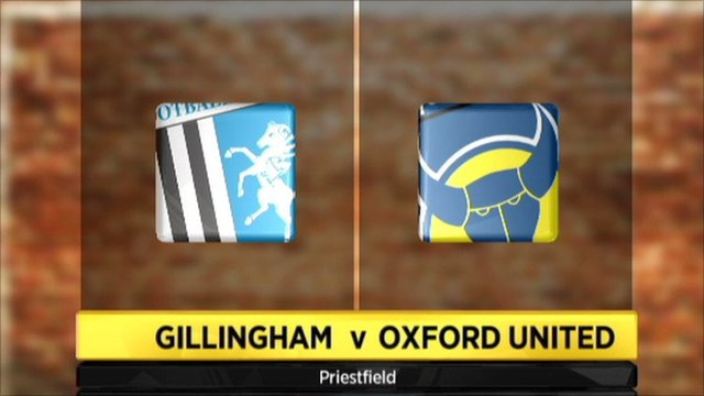 Gillingham 0-0 Oxford United