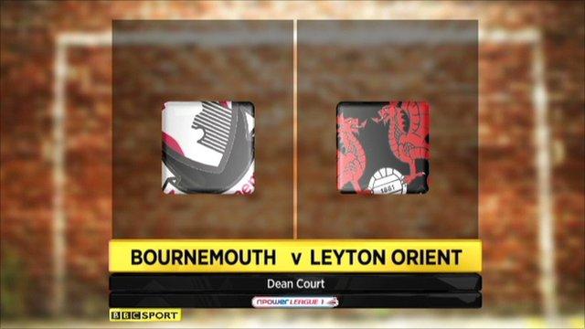 Bournemouth 1-1 Leyton Orient