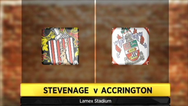 Stevenage 2-2 Accrington