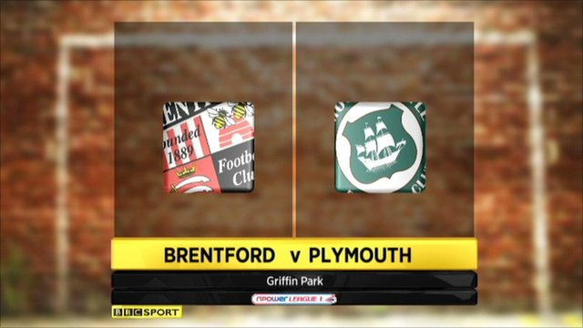 Brentford 2-0 Plymouth