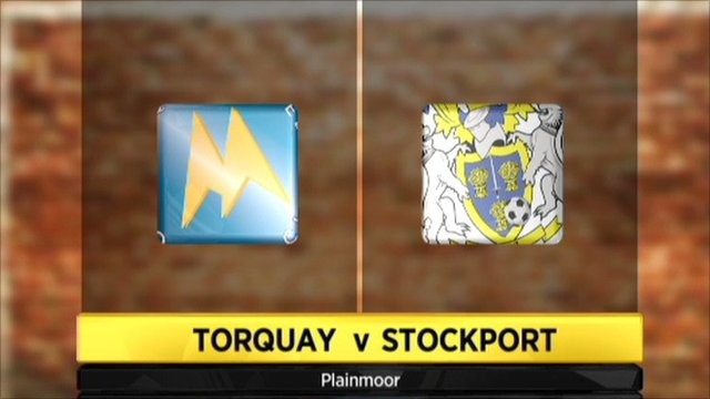 Torquay 2-0 Stockport