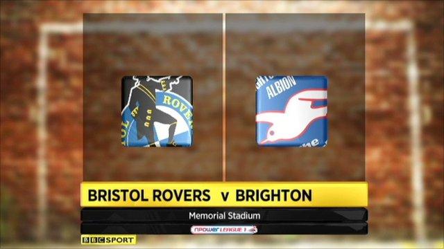 Bristol Rovers 2-4 Brighton