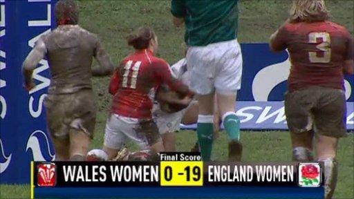 Wales W 0-19 England W
